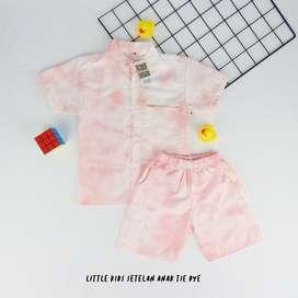 Baju setelan anak tidy