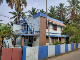 3bhk house, 1st floor for rent vattiyoorkavu near thozuvancodu temple