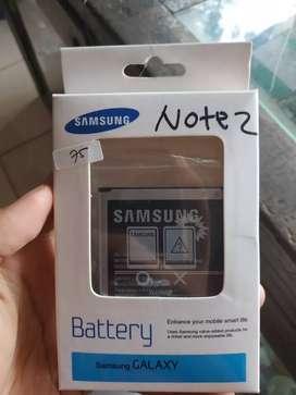Baterai samsung Note 2 N7100