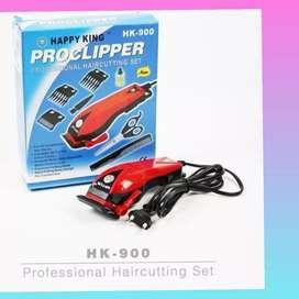 bisa bayar ditempat alat cukur rambut pangkas original happyking x54