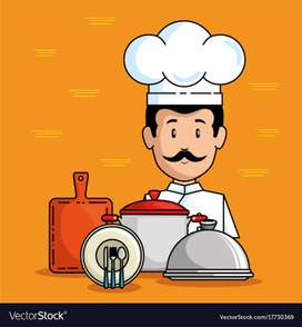 Cooking and management, service staff for restaurant and bowling alley