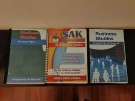 As Business Studies Notes By Sir Salman Akhtar