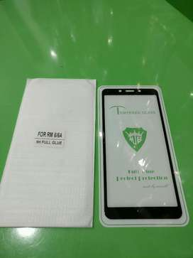 Tempered Glass Redmi 6/6A Full Layar 9D