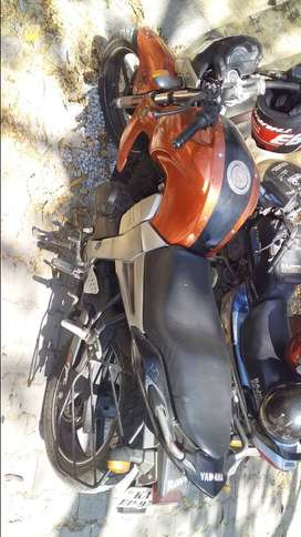 Yamaha FZ Orange with Good maintenance
