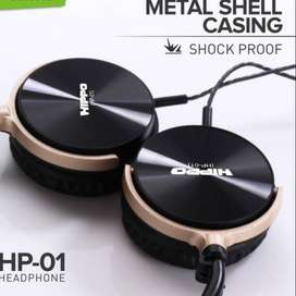 Hippo Headphone HP-01 Music & Telp Microphone Solo Micro