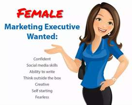Hiring Female Marketing executives