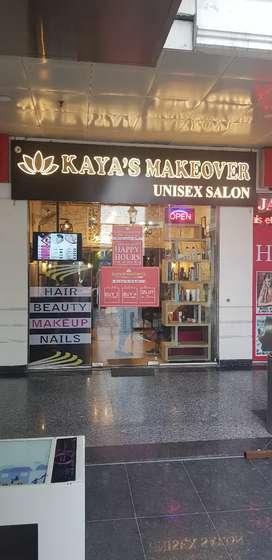 Kaya's Makeover unisex salon