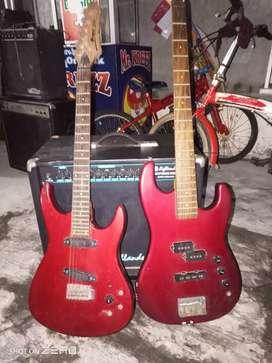 Dijual bass gitar merek prince masih bagus