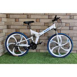 NEW IMPORTED 21 GEARS FOLDABLE CYCLES AVAILABLE IN ALL COLOURS