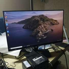 Bisa Nego Monitor Desain Warna Ciamik Akurat 22 inch Ips Led Bukan Lcd