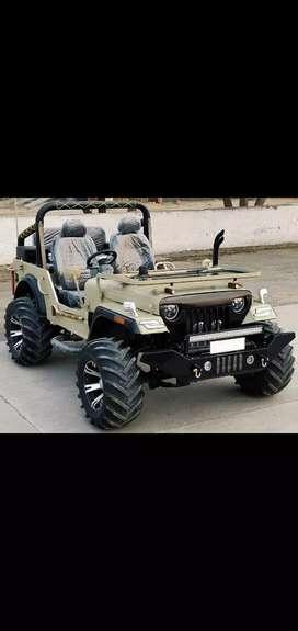 Ajay modifed jeeps
