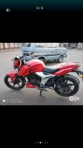 Tvs apache RTR 160...GOOD CINDITION