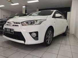 Toyota Yaris 2014 type 1.5 G model terbaru Tdp 18 jt