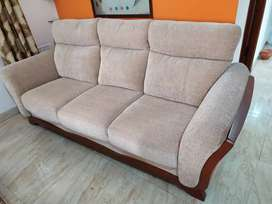 Sofa and center table