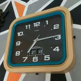 Jual jam dinding antik jadul kuno lawas citizen transistor