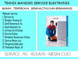 Rajanya service Kulkas 2pintu chiller error ; Mesin cuci ; Pomppa air