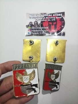 Plat Emblem Perbakin Kuningan (MEDAN TACTICAL STORE)