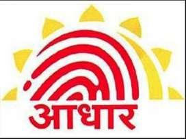 Aadhaar operator for bank