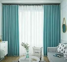 Terbaru Gorden Mewah Vertical Curtain blinds