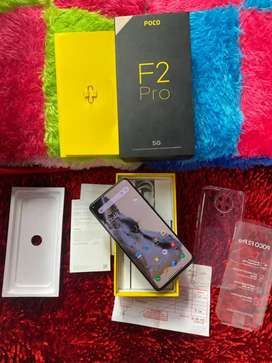 Xiaomi Poco F2 Pro 8/256GB Fullset Mulus Resmi Cyber Gray