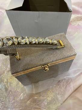 shinny bag for wedding