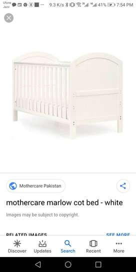 Brand new cot on sale .