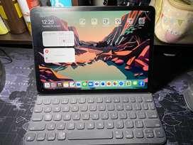Keyboard ipad pro 11 inch 2018 mulus fungsi normal unit only