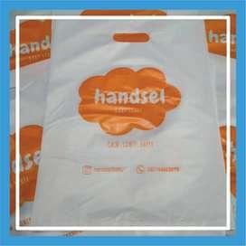 Tas Plastik Sablon / Tas Fashion untuk Usaha FREE ONGKIR - 102259