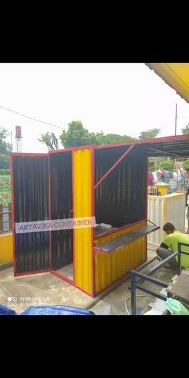 BOOTH SEMI CONTAINER BOOTH USAHA BOOTH CUSTOM