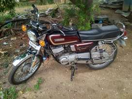 Yamaha rx135, model 2000, current fc, kick start