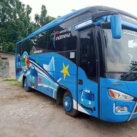 ISUZU BUS  NQR71 E2 2019 NIK 2019 PIALA MAS 35 SEATS ALDILLA KM RENDAH