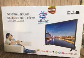 "Samsung 55"" smart QLed Tv { Real 4K + HDR } 4gb high Ram /32gb memory"