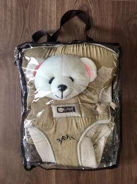Gendongan depan bayi Jessen motif beruang
