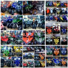 Whole verity of ATV QUAD BIKE 48cc to 249cc available in present stock