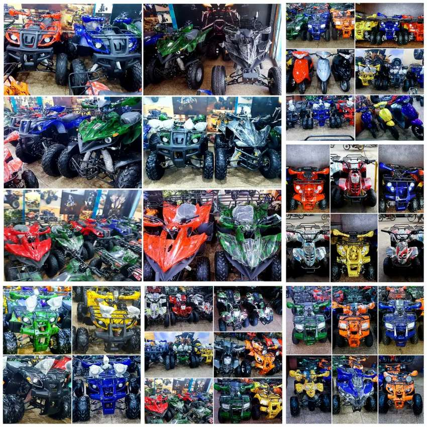 Whole verity of ATV QUAD BIKE 48cc to 249cc available in present stock 0