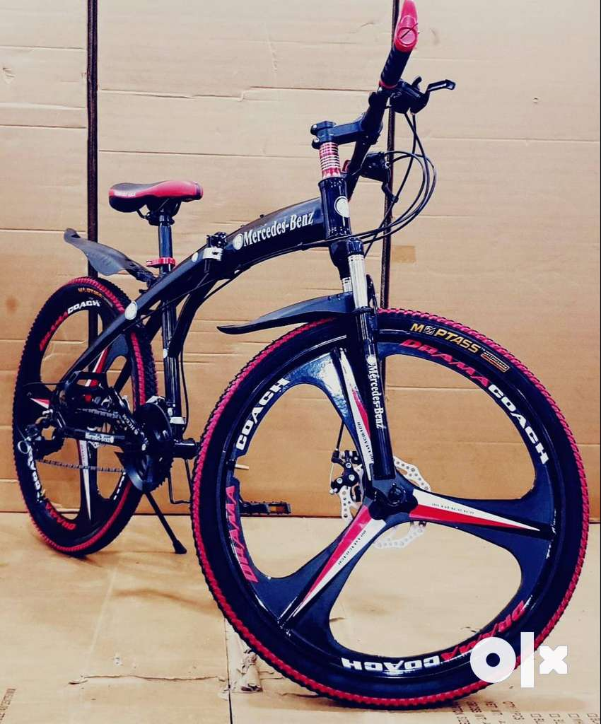 Mercedes-Benz Foldable 21 Gears Shimano Cycle & Dual Disc 0