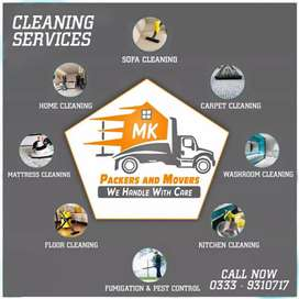Cleaning services in Karachi