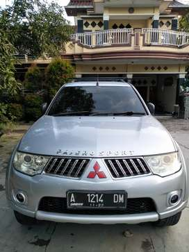 Pajero sport exceed 2009 Plat A