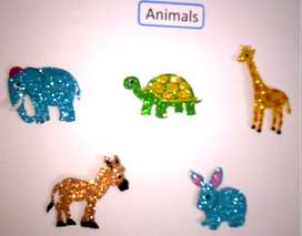 wall decoration small animal stickers