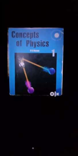 *HURRY UP* REAL PRICE (900) IIT JEE HC Verma- Concept of Physics 1&2
