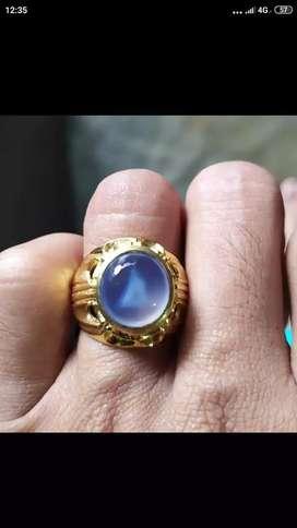 Dijual cincin biru langit Baturaja motif