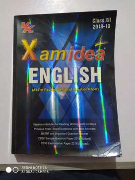 Xam Idea of English for class 12th