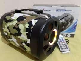 Speaker portabel advance tp-700 bluetooth remote + fm + usb +
