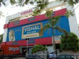 need 10 candidates HIRING in SHOPPING mall
