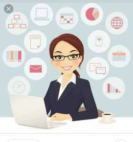 Female Office Assistant