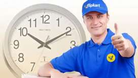 Gwalior Flipkart delivery boys required