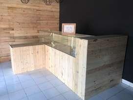 Pembuatan interior toko bahan palet jatin belanda