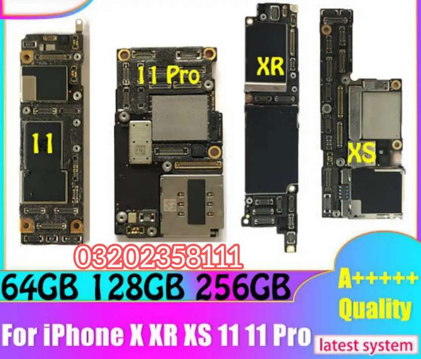 iPhone Logic Boards Available XR to 11 Pro Max