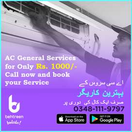 AC General service for only Rs. 1,000/-