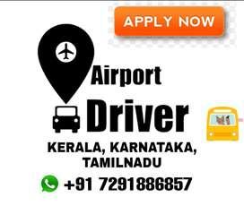 Required Driver for Airport in Kerala, Karnataka and Tamilnadu